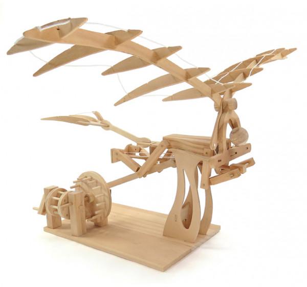 Leonardo Da Vinci Ornithopter - Bausatz