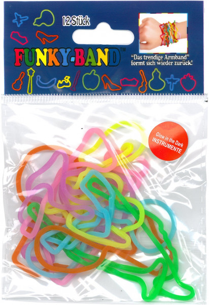 Funky Bands - Glow in the dark