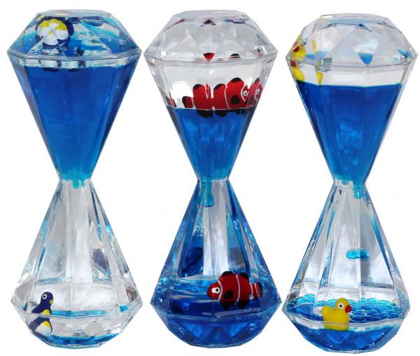 Liquid Timer - Sanduhr - Ente - Pinguin - Fisch