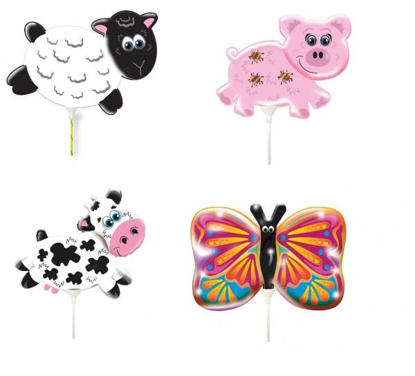 Folienballon - Bauernhoftiere