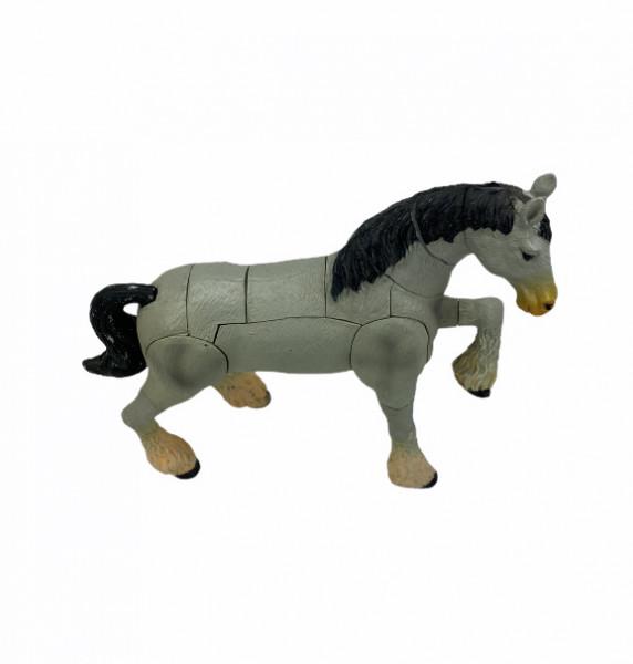 Pferde Puzzle in Hufeisendose