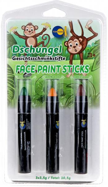 Schminkstifte Dschungel