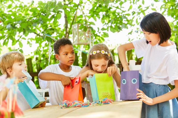 Eigene Auswahl - Mitgebsel Tüte Kindergeburtstag