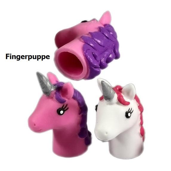 Einhorn Fingerpuppe