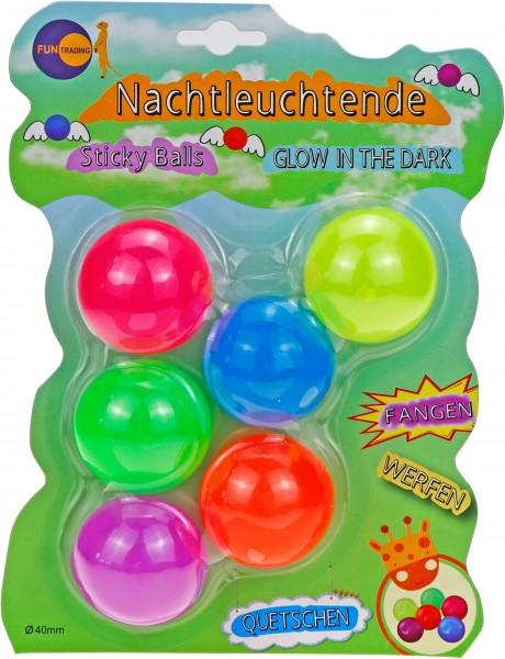 Sticky Balls - nachtleuchtend Fun Trading
