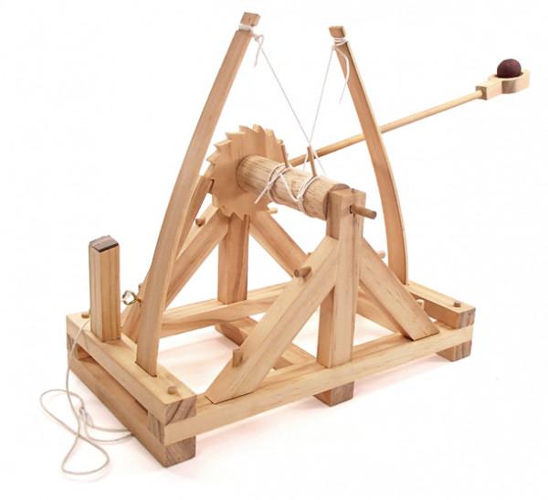 Leonardo Da Vinci Bausatz - Katapult