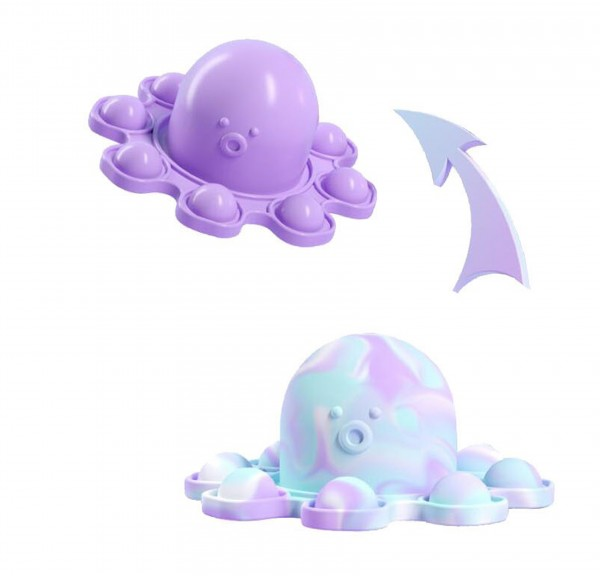 Octopus Pop Fidget - 2 in 1 - Farbwechsel