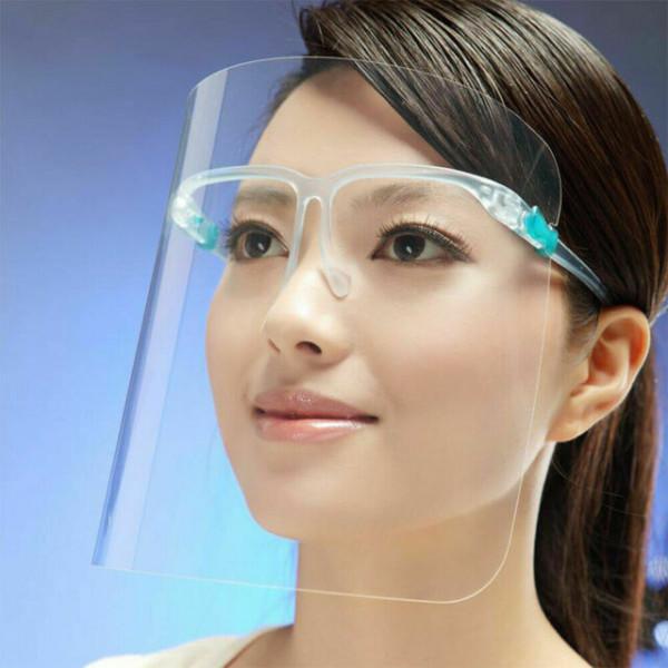 Schutzvisier mit Brillengestell