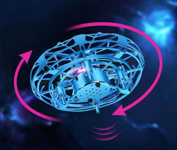 Sensoflyer - interaktives Ufo