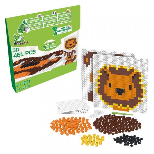 Pixel & Create Set - Löwe und Hund