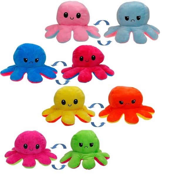 Octopus Wendeplüsch - 40 cm