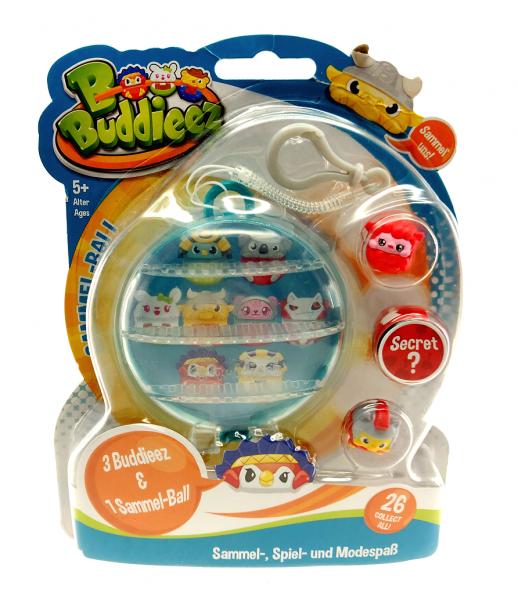 BBuddieez - Storage Ball inkl. 3 BBuddieez