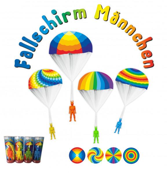 Fallschirm-Männchen