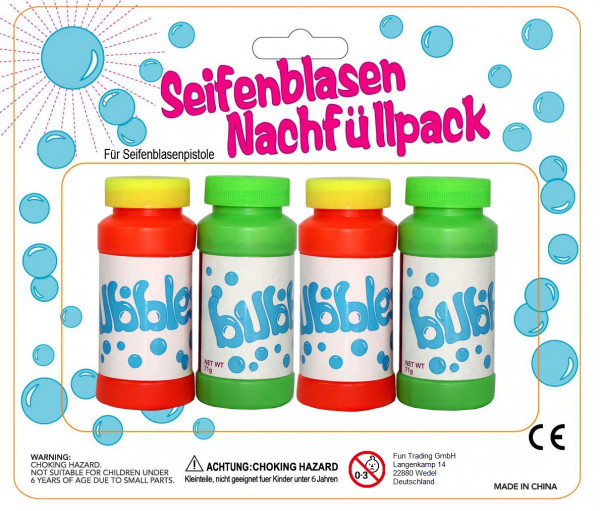 Seifenblasen Nachfüllpack