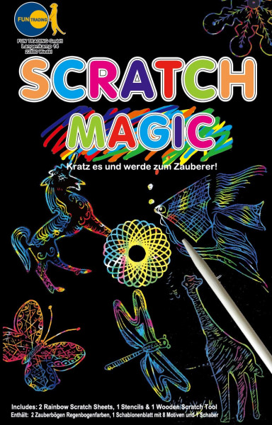 Scratch Magic Zauberpapier