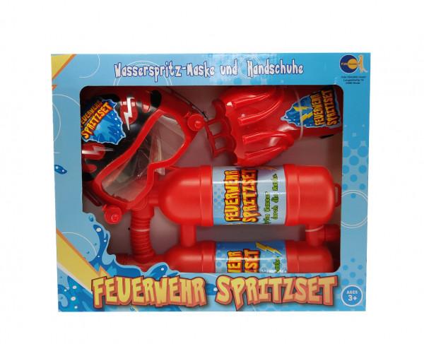 Feuerwehr-Spritzset