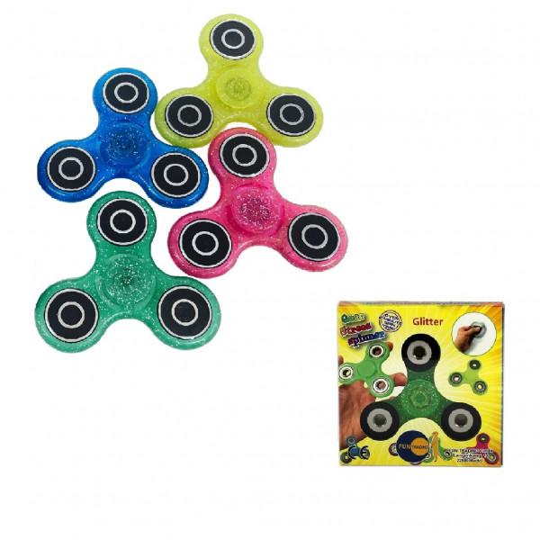 Finger-Kreisel Fidget Spinner - Glitzer