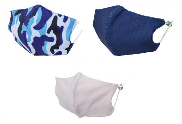 Textile Mund-Nasen Bedeckung