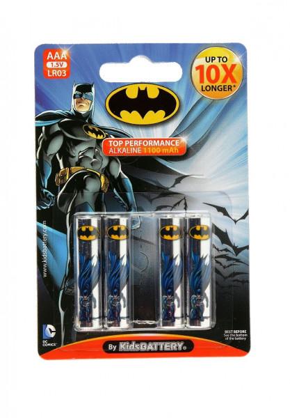 AAA Batterien - 4 Stück - Batman Design