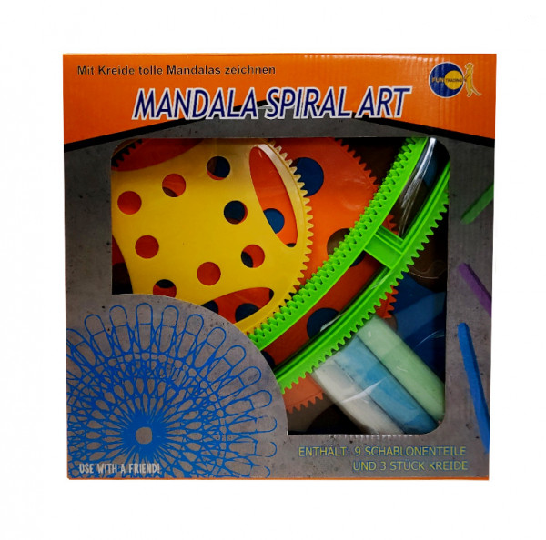 Mandala Kreide - Spiral Set