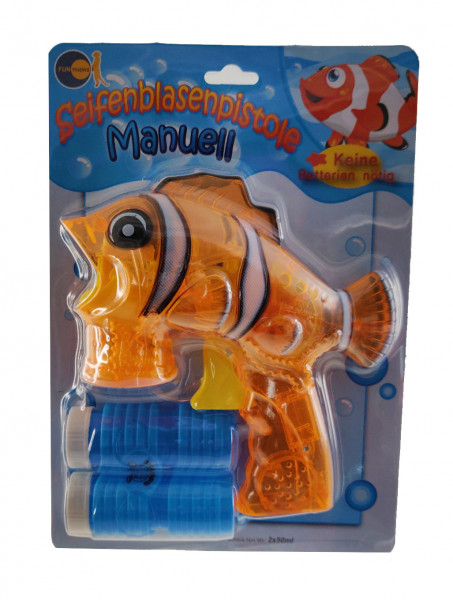 Seifenblasenpistole manuell - Fisch