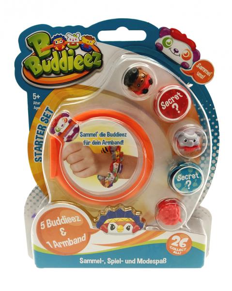 BBuddieez - 5 BBuddieez und 1 Armband