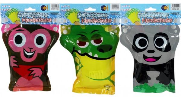 Seifenblasen Handschuh