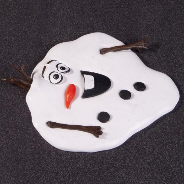 Frozen Schneemann Olaf geschmolzen